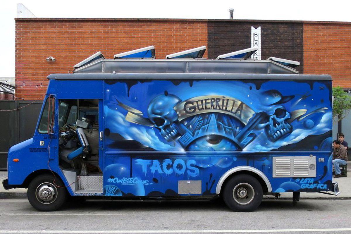 The old Guerrilla Tacos truck
