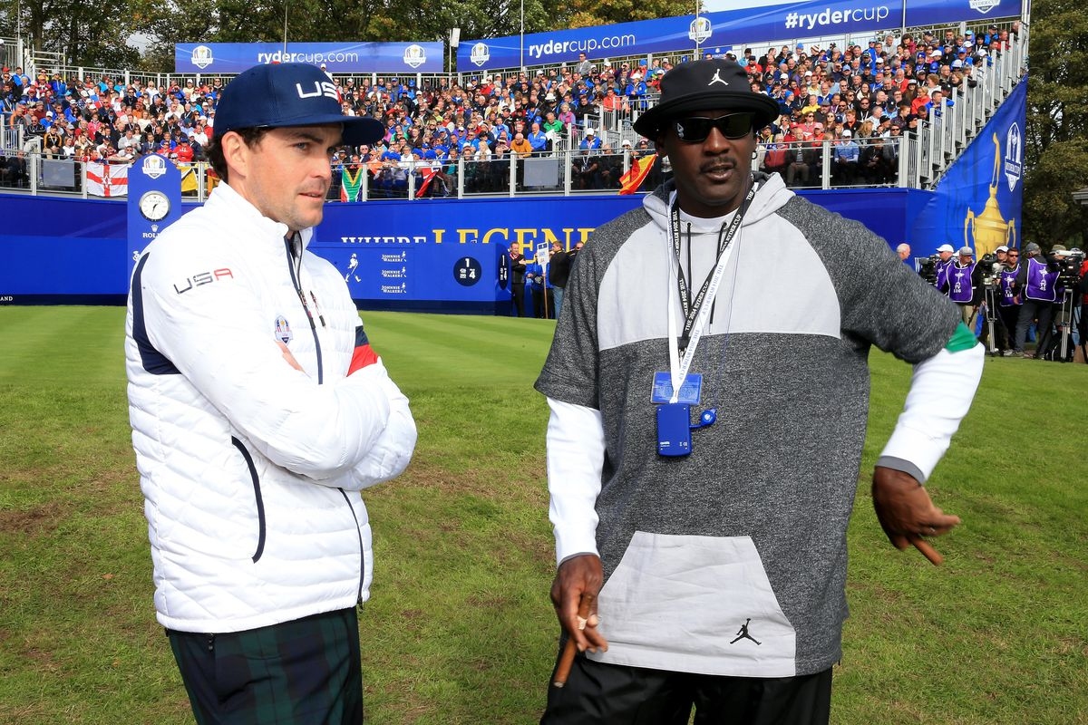David Cannon Getty Images. Keegan Bradley has a thing for Michael Jordan s  shoes ... 104ce928d