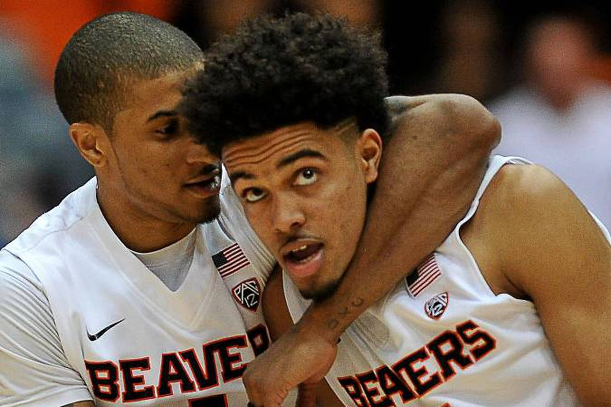 Gary Payton II and Stephen Thompson Jr colaborated to lead the Beavers past the Utes.