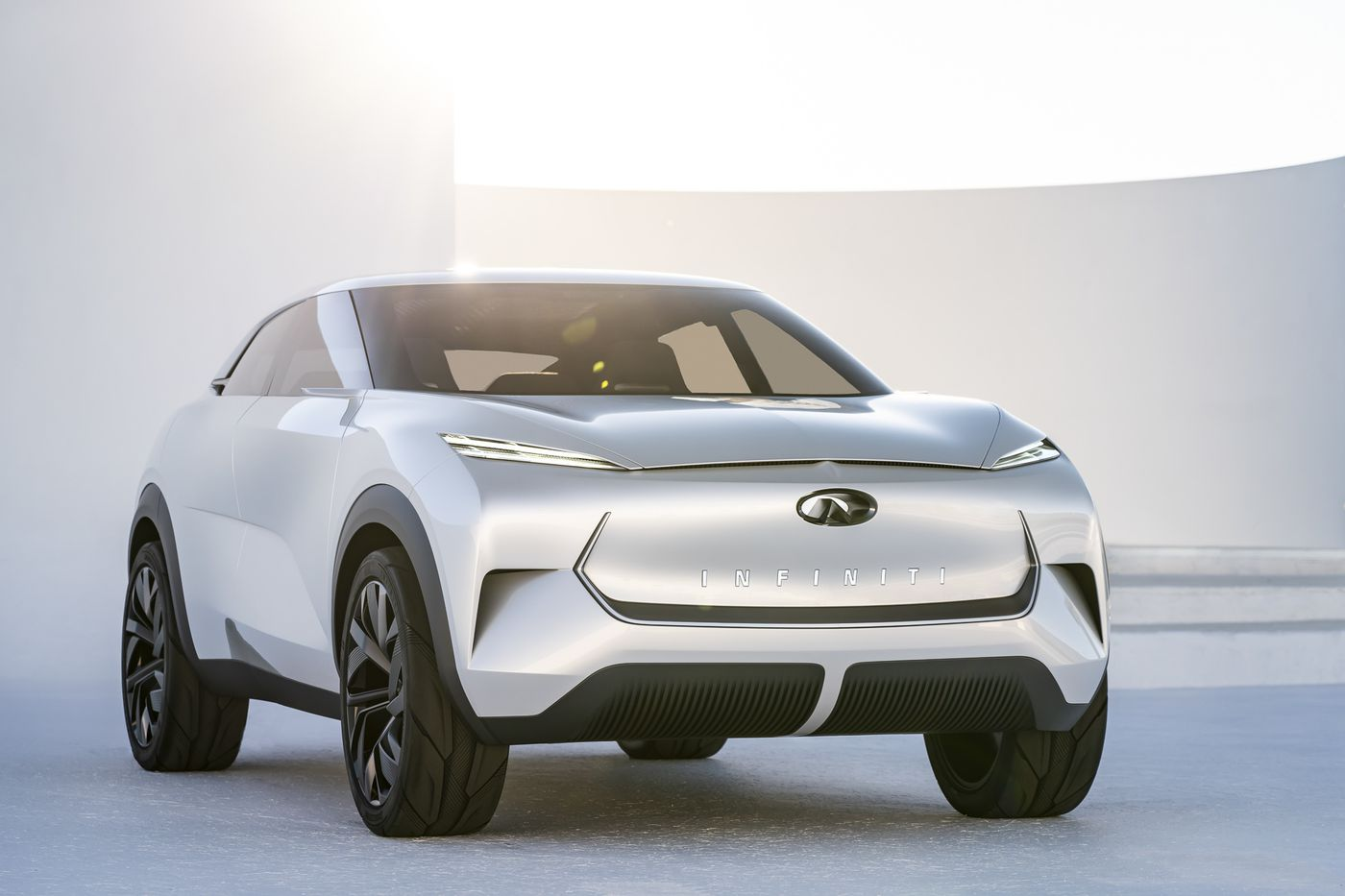 Infiniti S First All Electric Car Will Be Inspired By This Flashy Concept The Verge