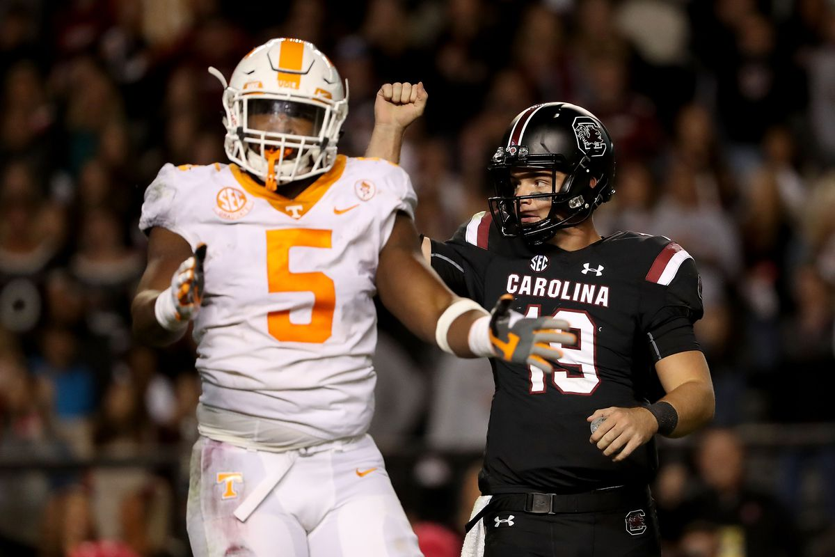 best website d2bde 3e1aa 2019 NFL Draft Scouting Report: Tennessee defensive end Kyle ...