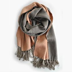 """<b>Look</b> Two-Tone Scarf, <a href=""""http://alterbrooklyn.com/store/look-two-tone-long-scarf/dp/21949"""">$45</a> at <b>Alter</b>"""