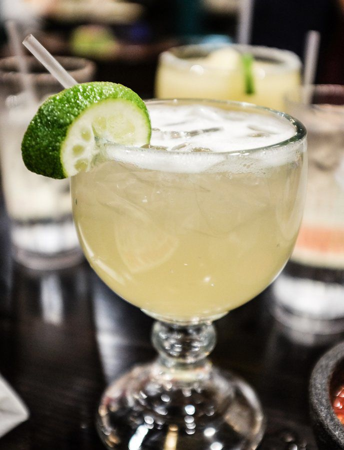 A margarita from Maudie's