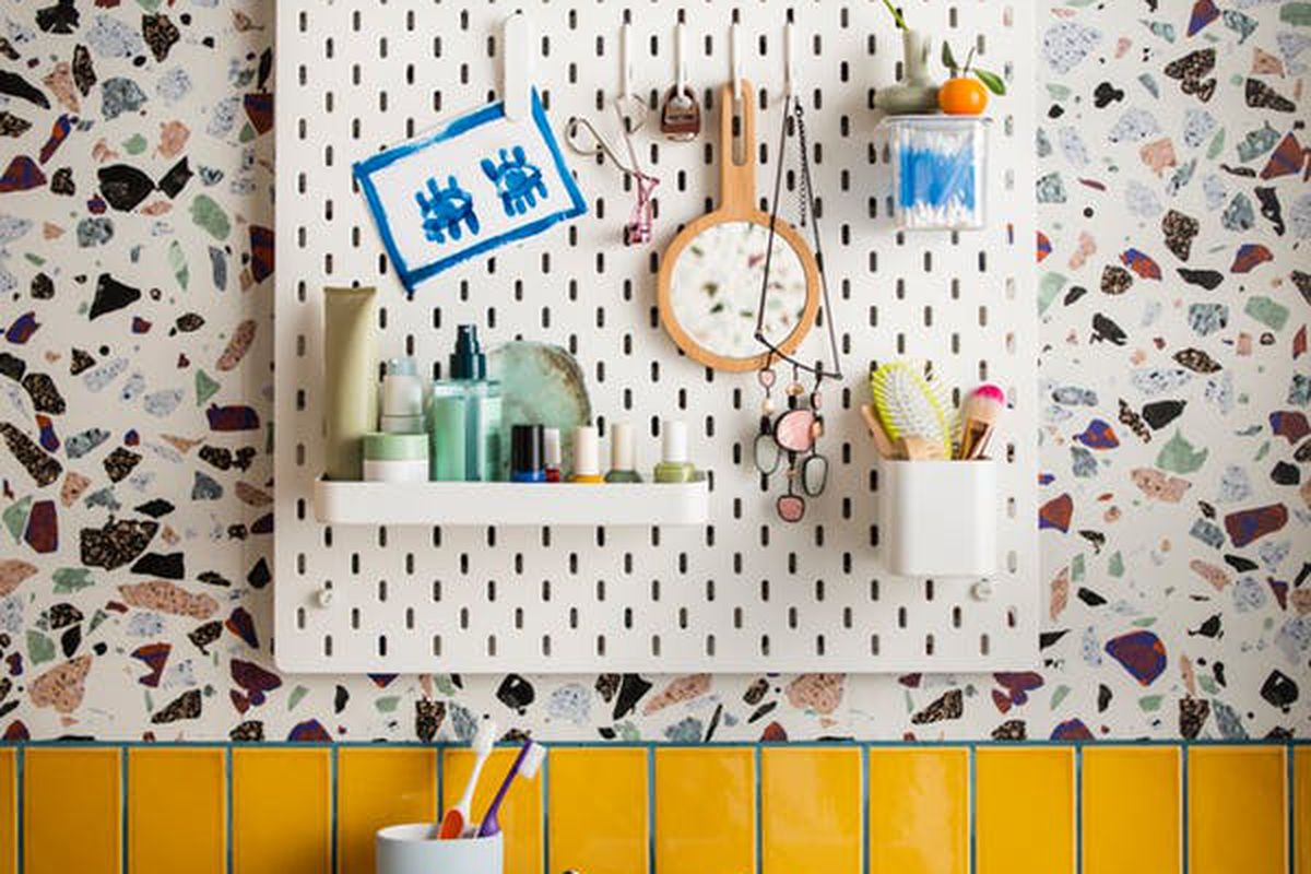 ikea s pegboard system finally comes to the us curbed