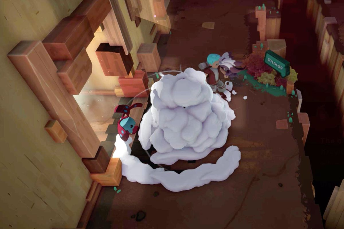 Use Smoke Bombs in Temtem to escape fights and heal your temtem