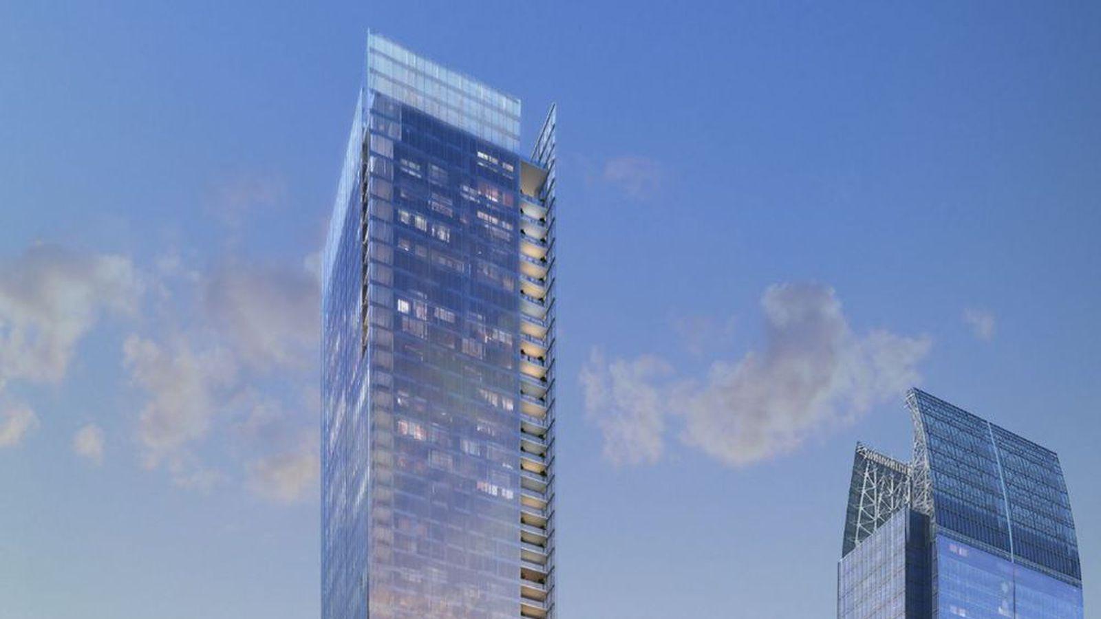 Midtown Atlanta S Opus Place Tower Now Eyeing October