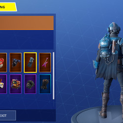 The Visitor's backbling, Fortnite's first cape
