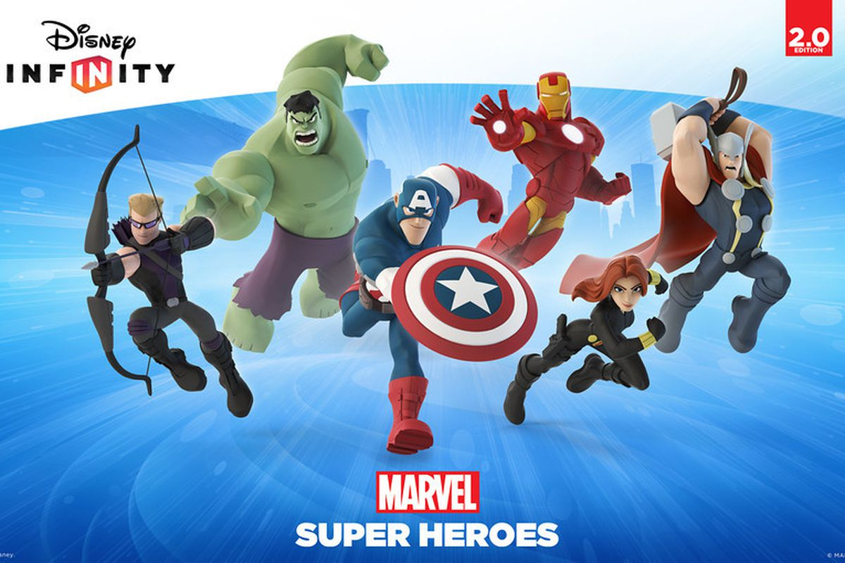Marvel characters are coming to 'Disney Infinity' this fall - The Verge