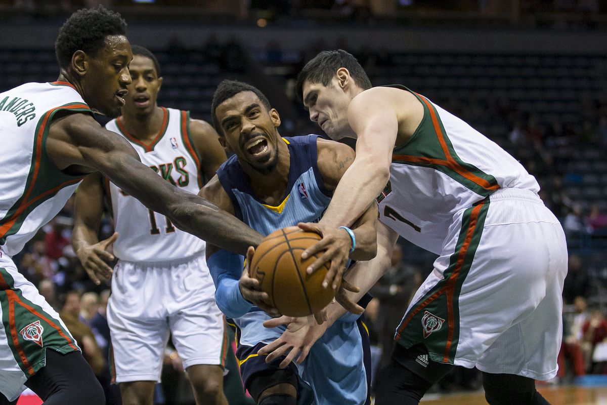 Mike Conley will be surrounded by Bucks often in Milwaukee.