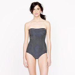 "<a href=""http://www.jcrew.com/womens_feature/TeesShorts4/swim/PRDOVR~62236/62236.jsp"">Rope Stripe Bandeau Tank</a>, $73.50 (was $98)"