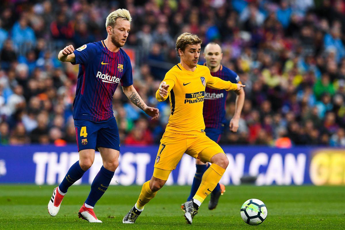 ¡Griezmann con pie y medio en el Barcelona!