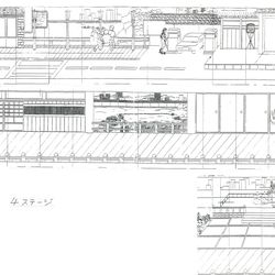 More detailed drawings revealing how stages are constructed