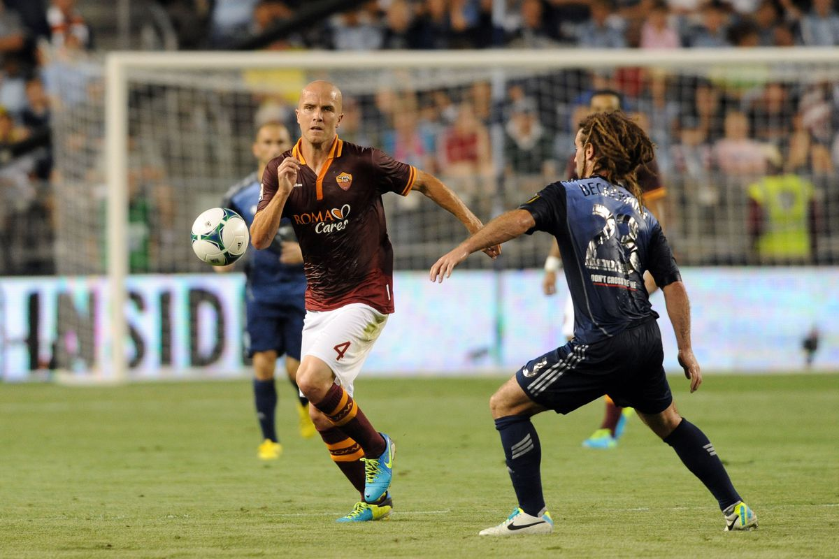 Bradley vs Beckerman. Should have an impact on today's game you'd think.