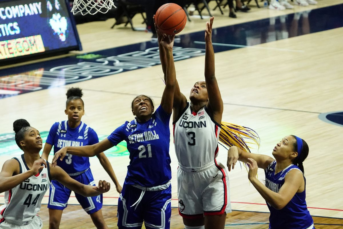 NCAA Womens Basketball: Seton Hall at Connecticut