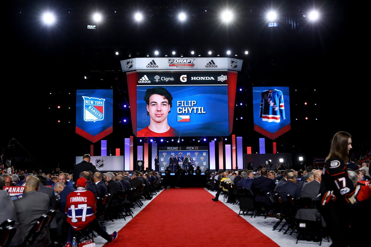 f38505c8d Analyzing The Lias Andersson And Filip Chytil Selections - Blueshirt ...