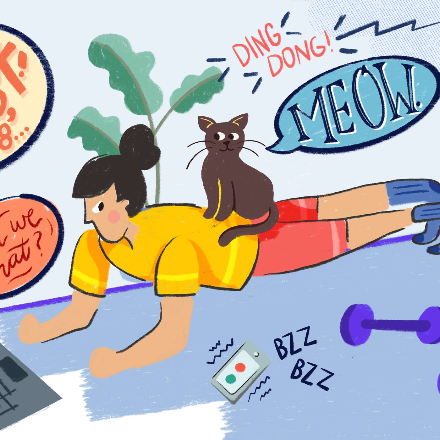 How To Find The Motivation To Workout At Home Vox