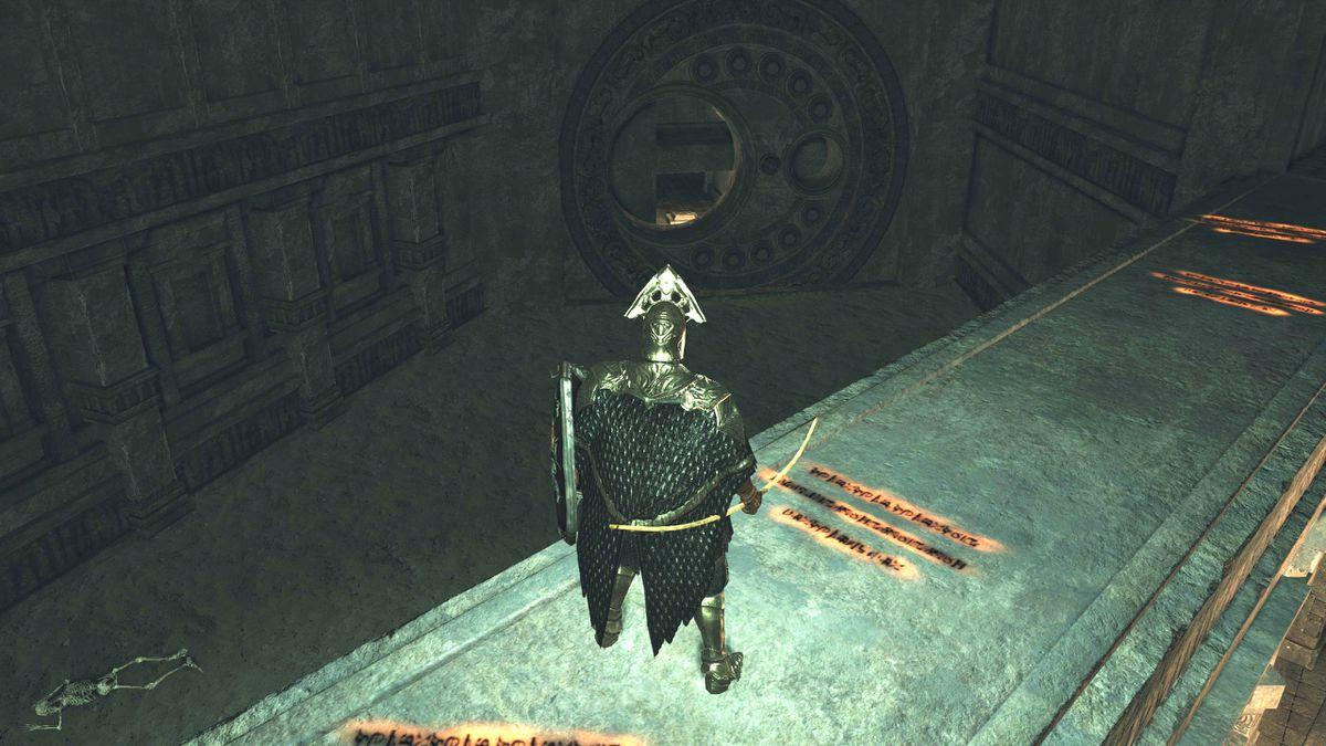 Hidden Sanctum Chamber - round door