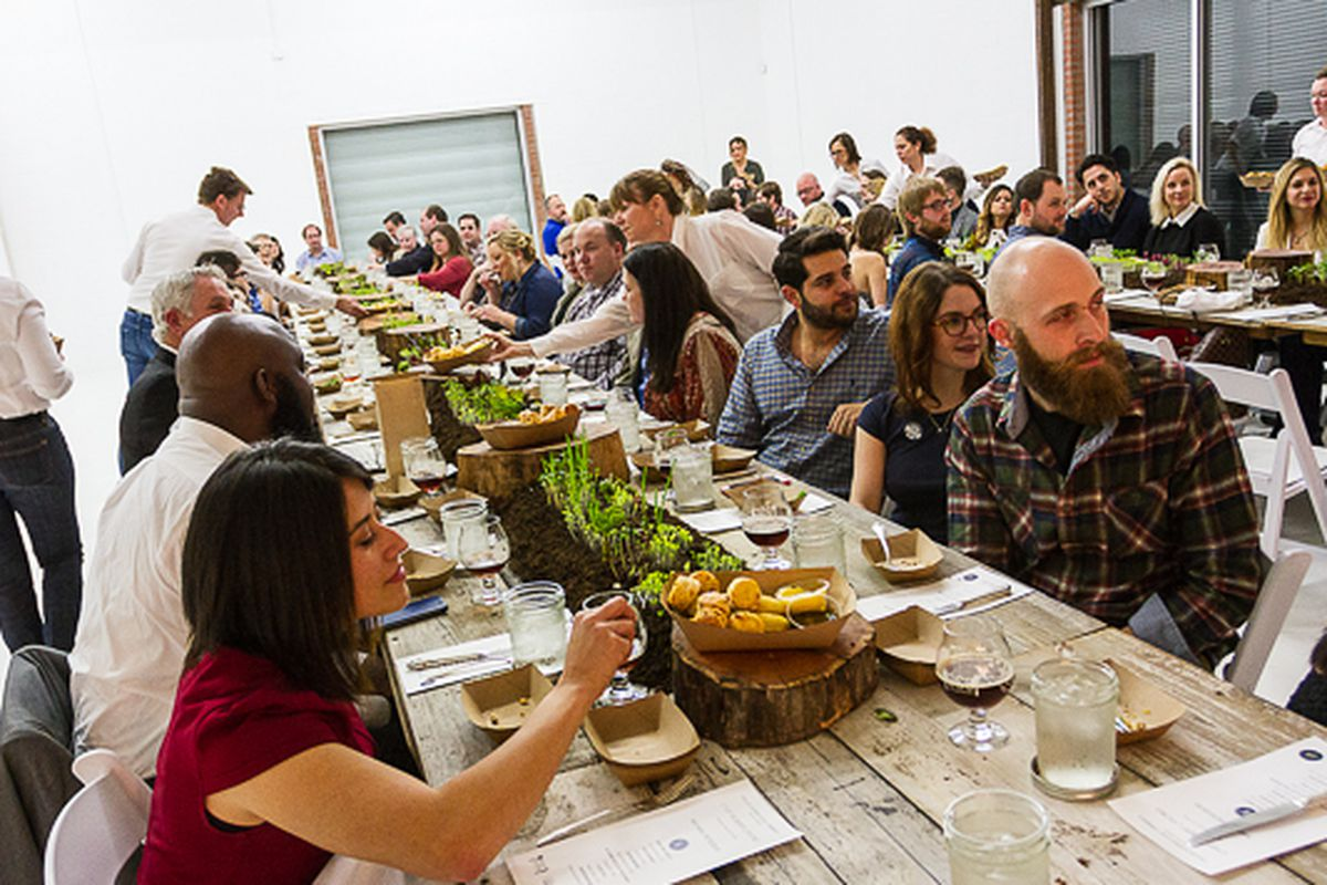 Scenes from last month's Dallas Supper Club, a members-only pop-up featuring Dallas' best chefs.