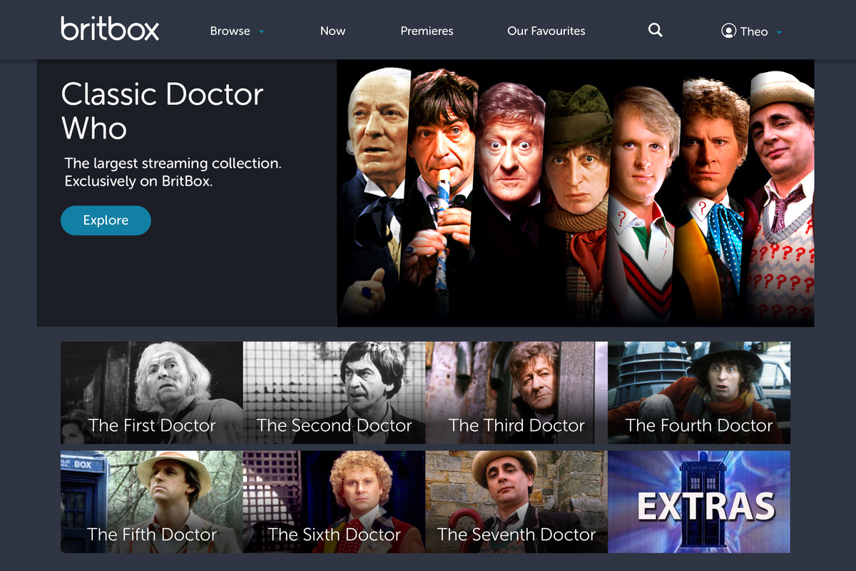 Classic Doctor Who episodes are coming to BritBox's British