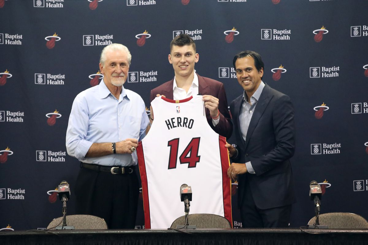 Miami Heat Introduce Tyler Herro