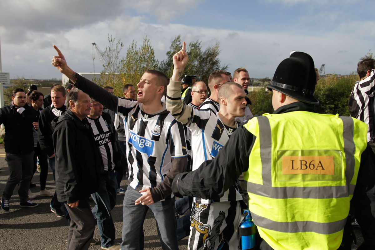 Newcastle fans were in full throat. How did the players do?