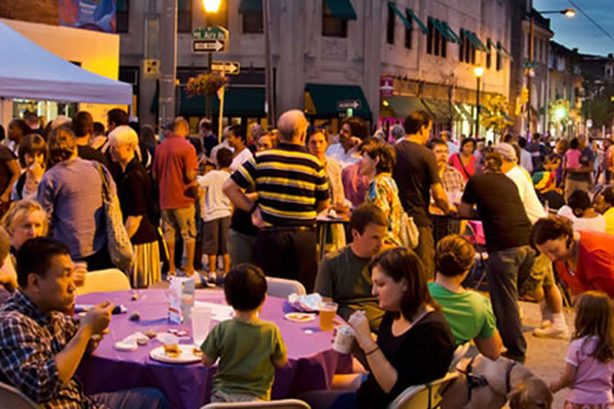 Tomorrow's Night Market will be the biggest yet