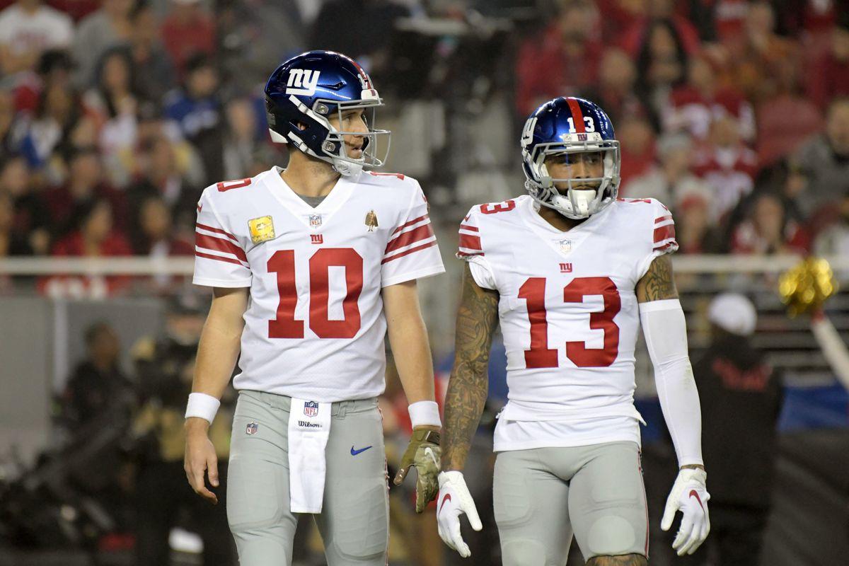 the best attitude 73ef5 d5c13 The Giants should bench Eli Manning for Odell Beckham Jr ...