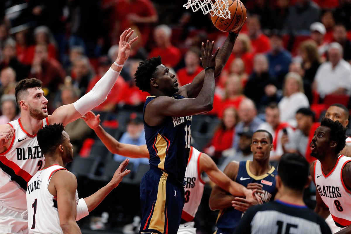 New Orleans Pelicans v Portland Trail Blazers - Game Two
