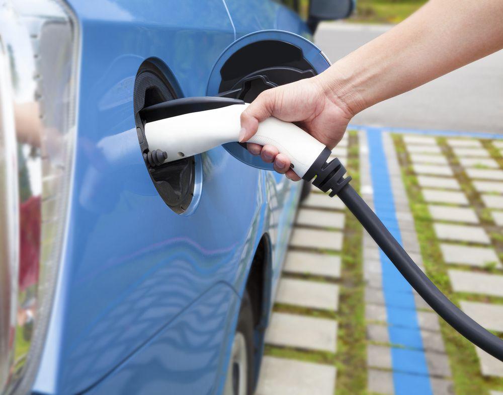 plug-in car