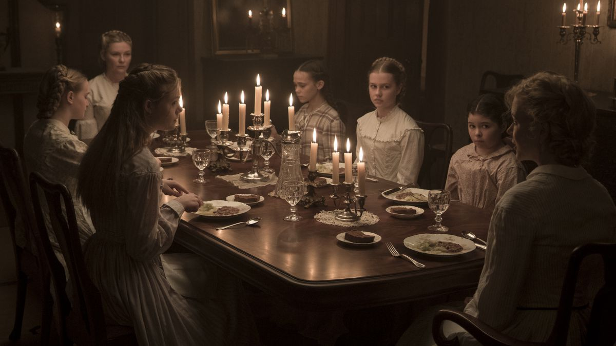 The leading ladies of The Beguiled.