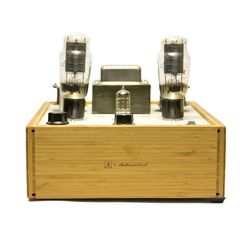 """Ball and Buck + Bottlehead Stereomour, <a href=""""http://ballandbuck.com/products/ball-and-buck-bottlehead-stereomour-natural"""">$1348</a>"""