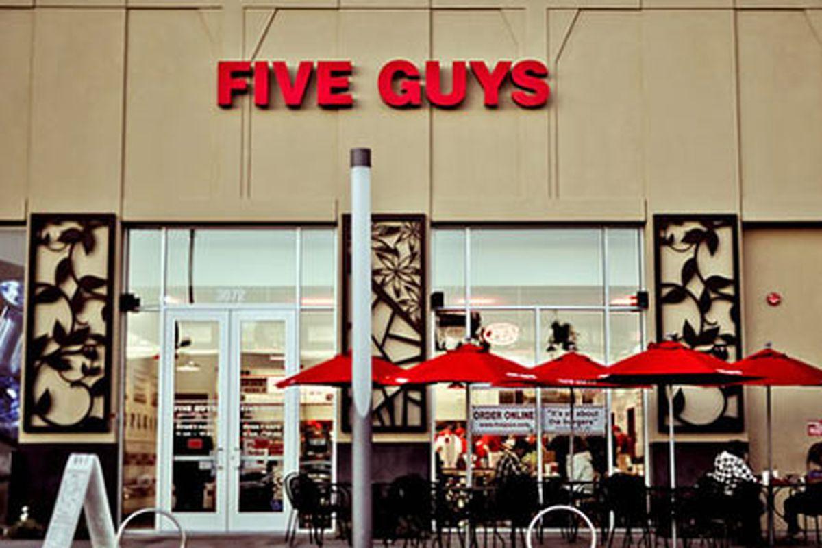 Five Guys Burgers, Valencia, CA