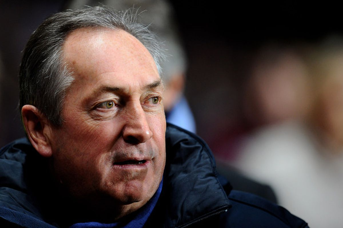 Gerard Houllier: Tactical genius or insane nutter?  (Photo by Clive Mason/Getty Images)