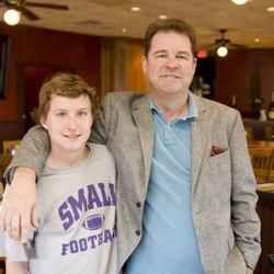 Brian O'Neill with his son Brendan
