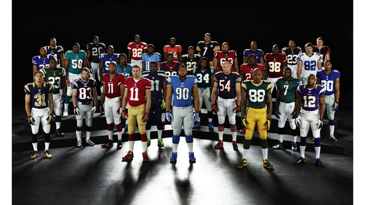 Nike Unveils New Nfl Uniforms Seahawks Only Drastic Change Sbnation Com
