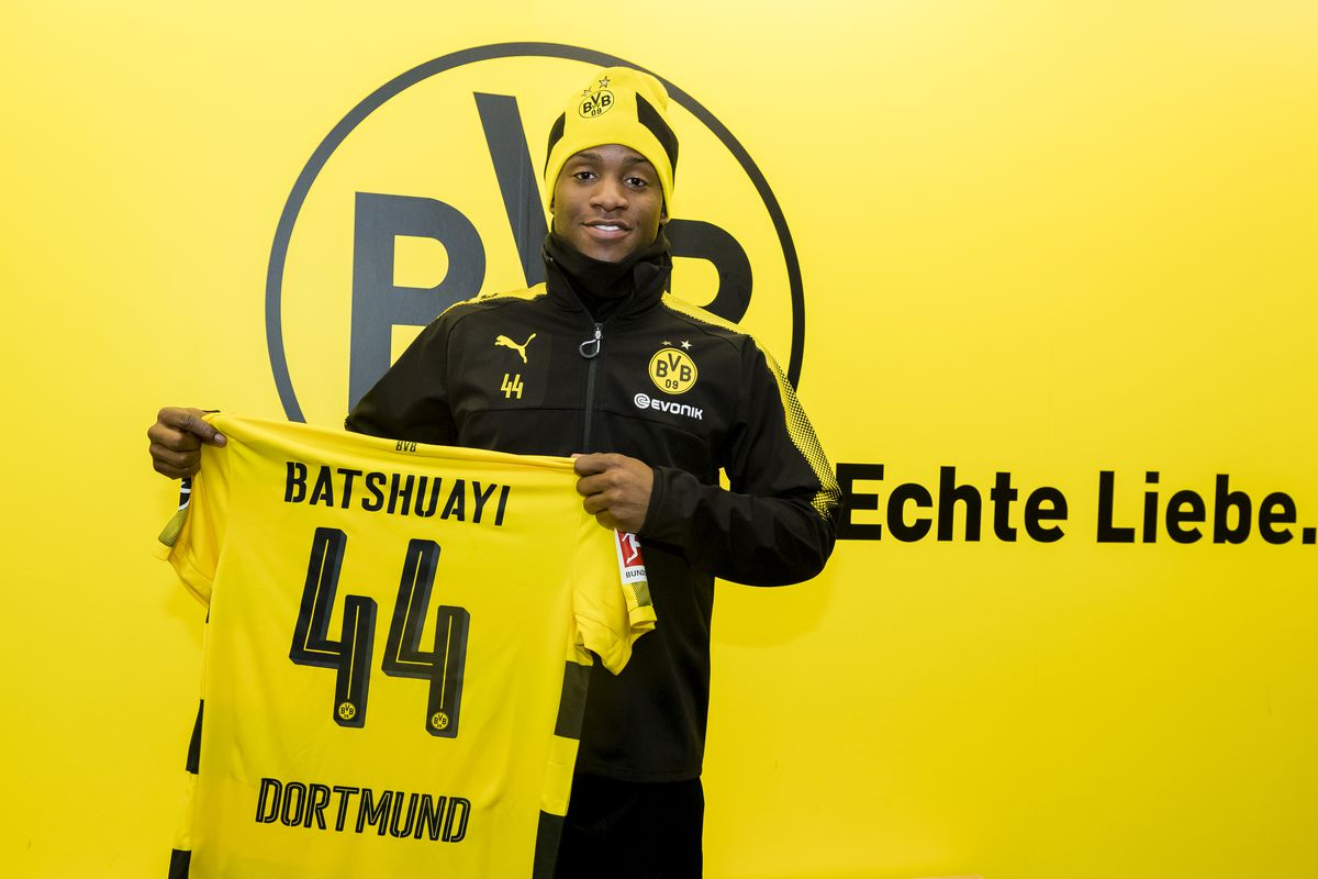 Batshuayi first Bundesliga striker to score debut brace since Aubameyang
