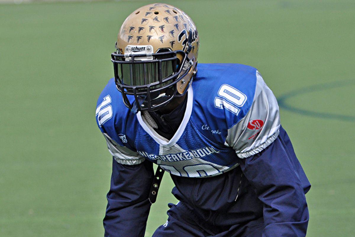 Kirk Garner is one of several talented defensive backs in UVa's 2013 class