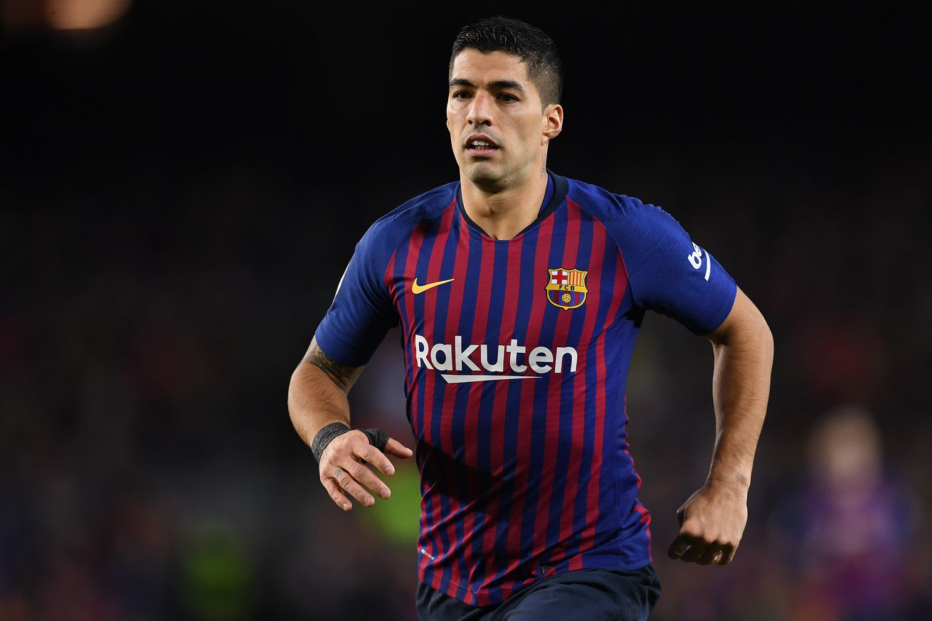 About time Suarez showed up in the Champions League