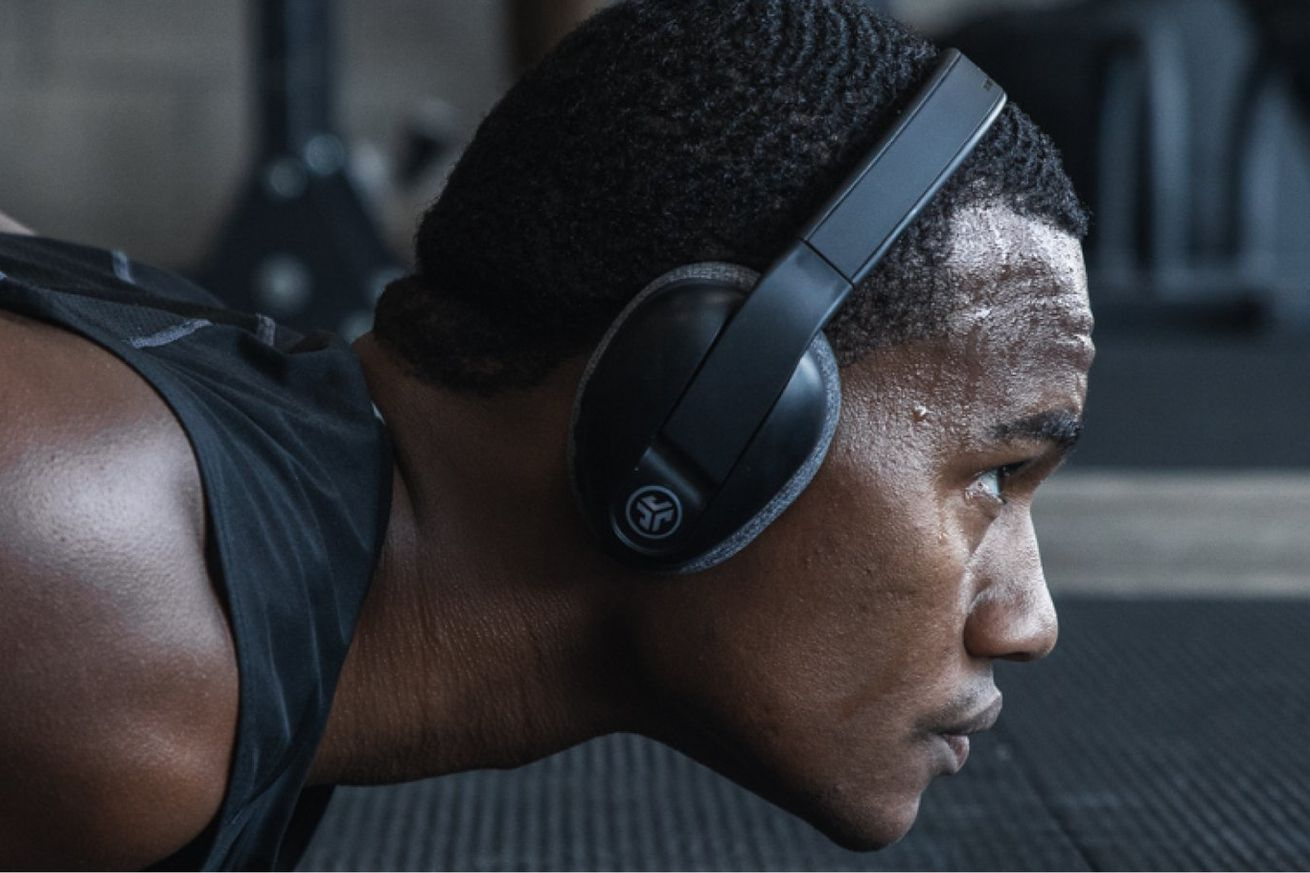 jlab s new over ear sport headphones have washable earpads