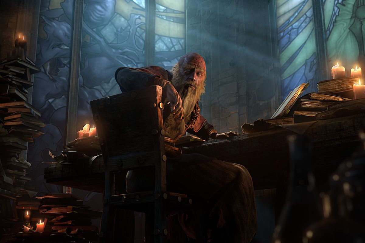 Heroes Of The Storm Dev Issues A Challenge To Fans Share Your Deckard Cain Designs Polygon Deckard cain is a support hero that falls somewhere between medivh and brightwing. heroes of the storm dev issues a