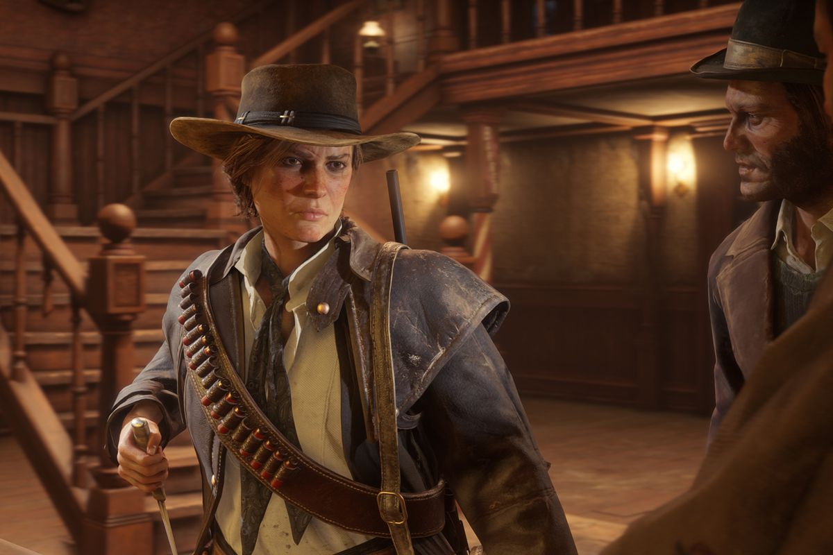 Red Dead Redemption 2 S Disappearing Campers Bug Has A Fix