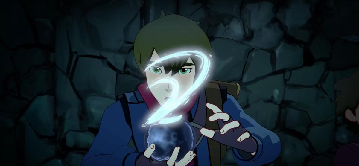 Callum in The dragon prince trailer