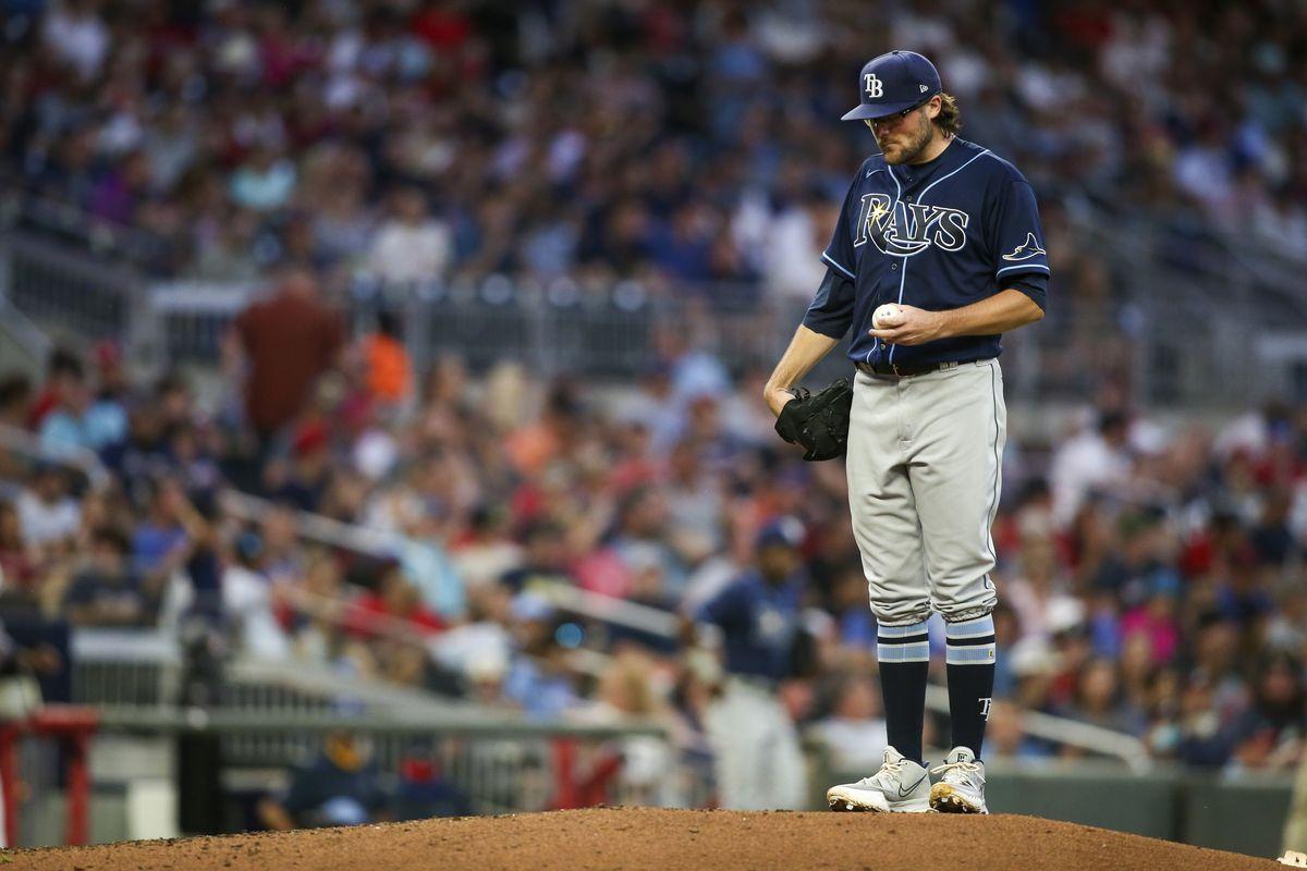 MLB: Tampa Bay Rays at Atlanta Braves