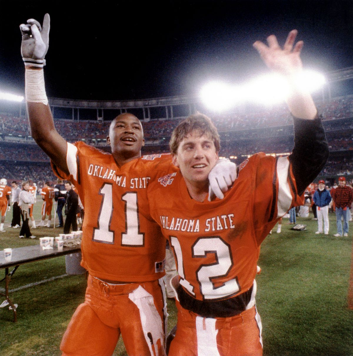 Mike Gundy and Hart Lee Dykes
