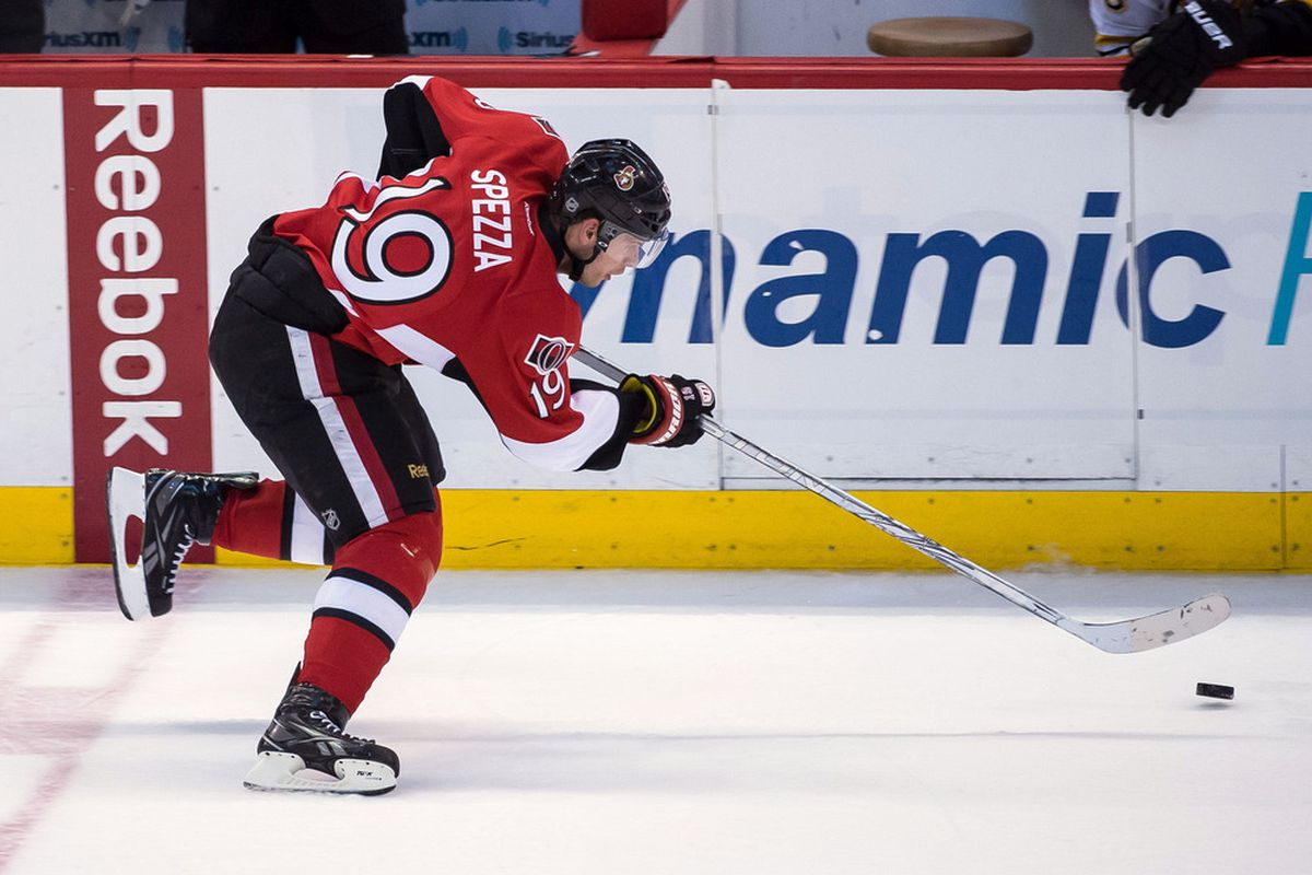It's only a matter of time before someone challenges the legality of Spezza's superconductor stick.