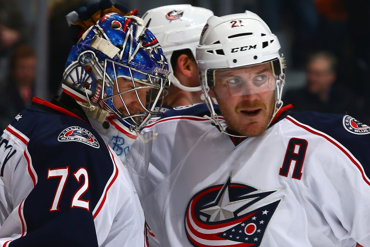 Both James Wisniewski and Sergei Bobrovsky have added to the Jackets' significant amount of games lost in the 2013-2014 season.