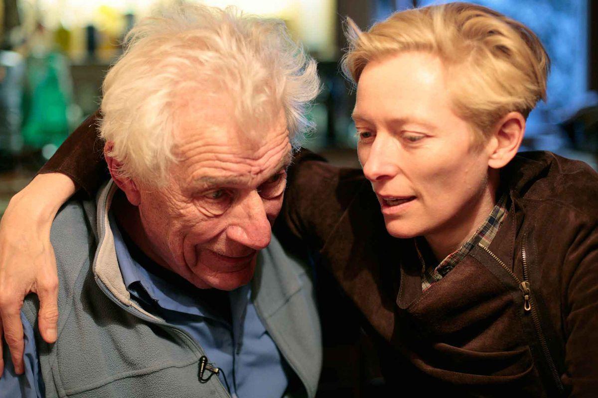 John Berger and Tilda Swinton converse.