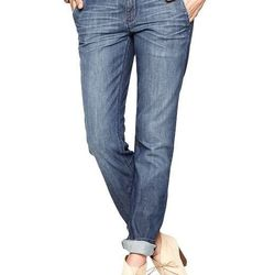 """<b>Gap</b> 1969 Real Straight Trouser Jeans, <a href=""""http://www.gap.com/browse/product.do?pid=243790"""">$69.95</a>"""