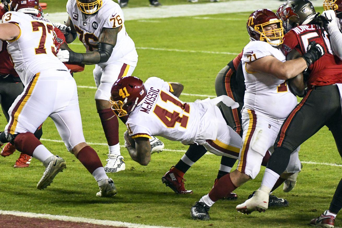NFL: JAN 09 NFC Wild Card - Buccaneers at Washington Football Team