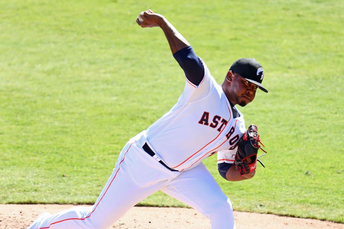 Astros prospect Rogelio Armenteros in the Arizona Fall League